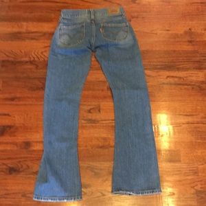 Levi's Jeans - Awesome Size 1M Levi's Blue Denim JEANS Distressed